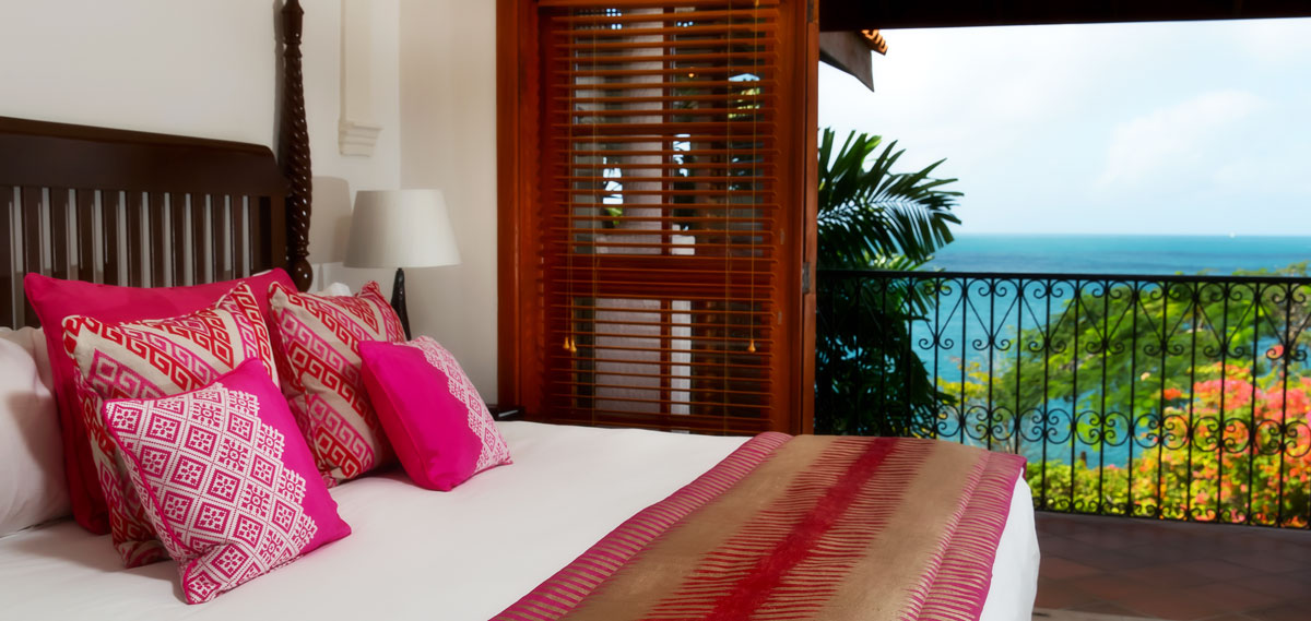 Accommodations:      Cap Maison Resort & Spa  in gros islet