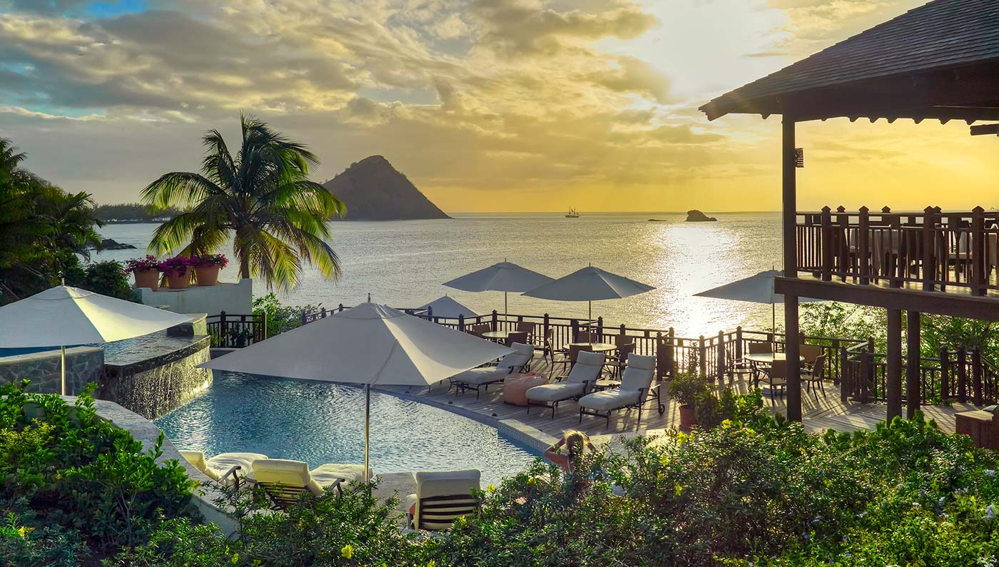 cap maison resort spa luxury st lucia resort