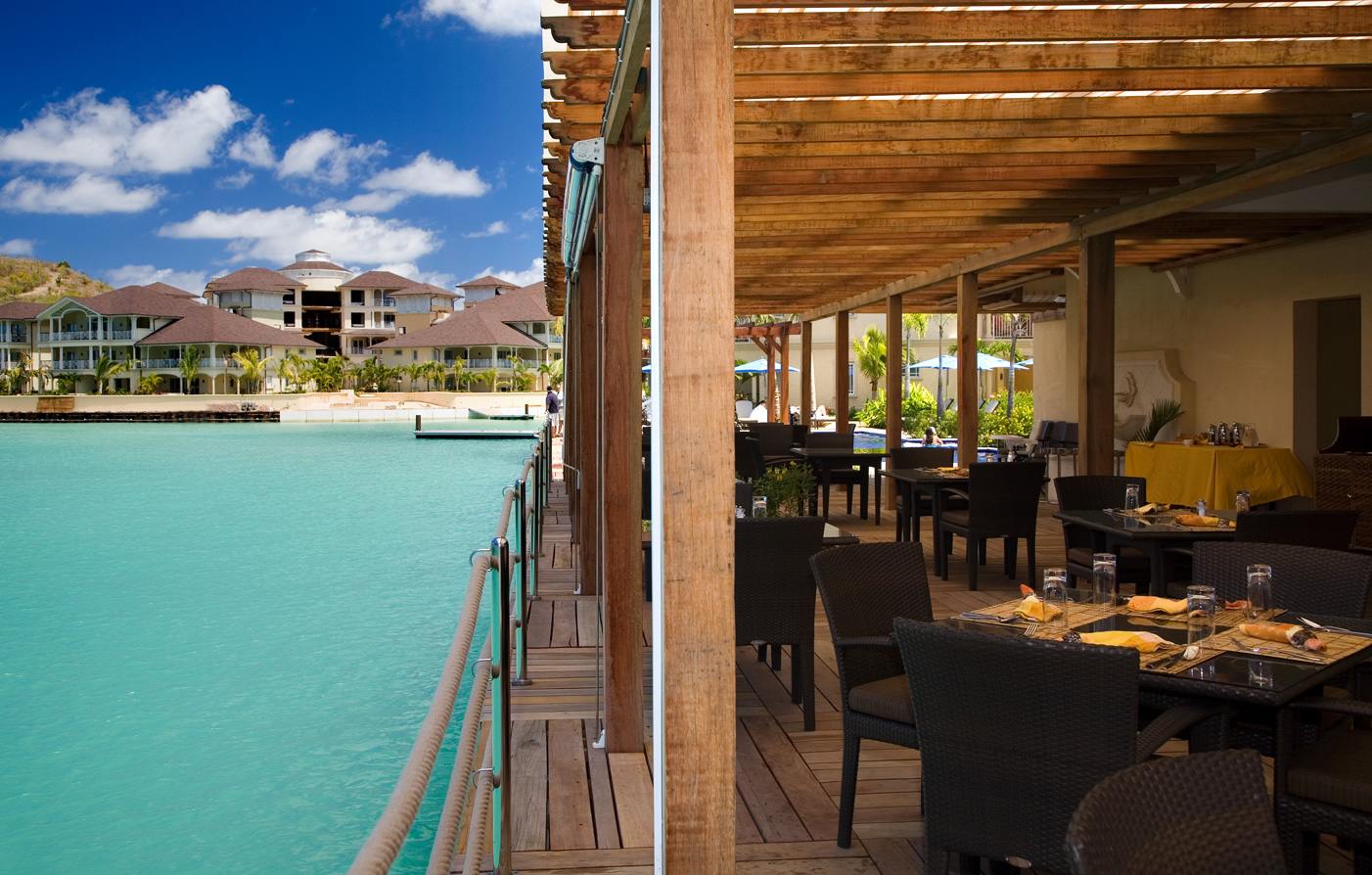Dining:      The Landings St. Lucia  in Castries