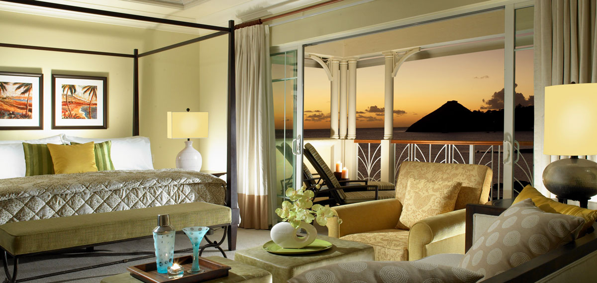 Accommodations:      The Landings St. Lucia  in Castries