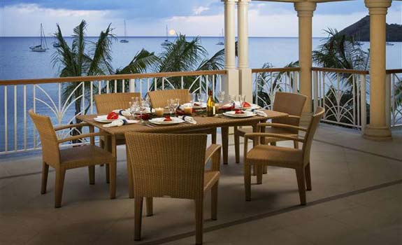 The Landings St. Lucia  - Dining