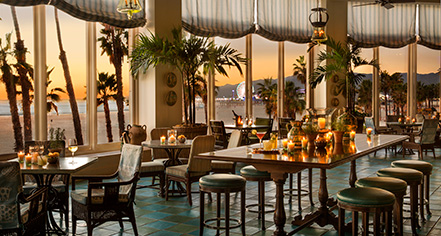 Dining at      Hotel Casa del Mar  in Santa Monica