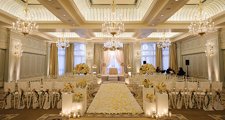 Weddings:      Hotel Casa del Mar  in Santa Monica