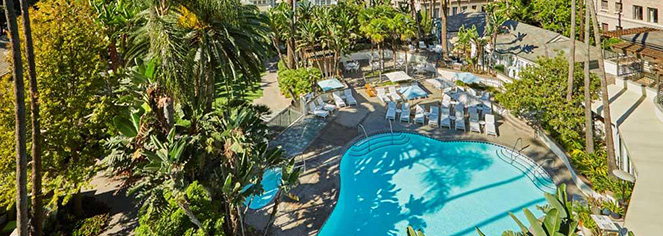 Spa:      Fairmont Miramar Hotel & Bungalows  in Santa Monica