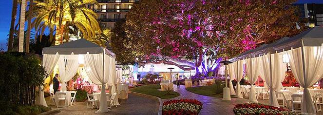 Weddings:      Fairmont Miramar Hotel & Bungalows  in Santa Monica