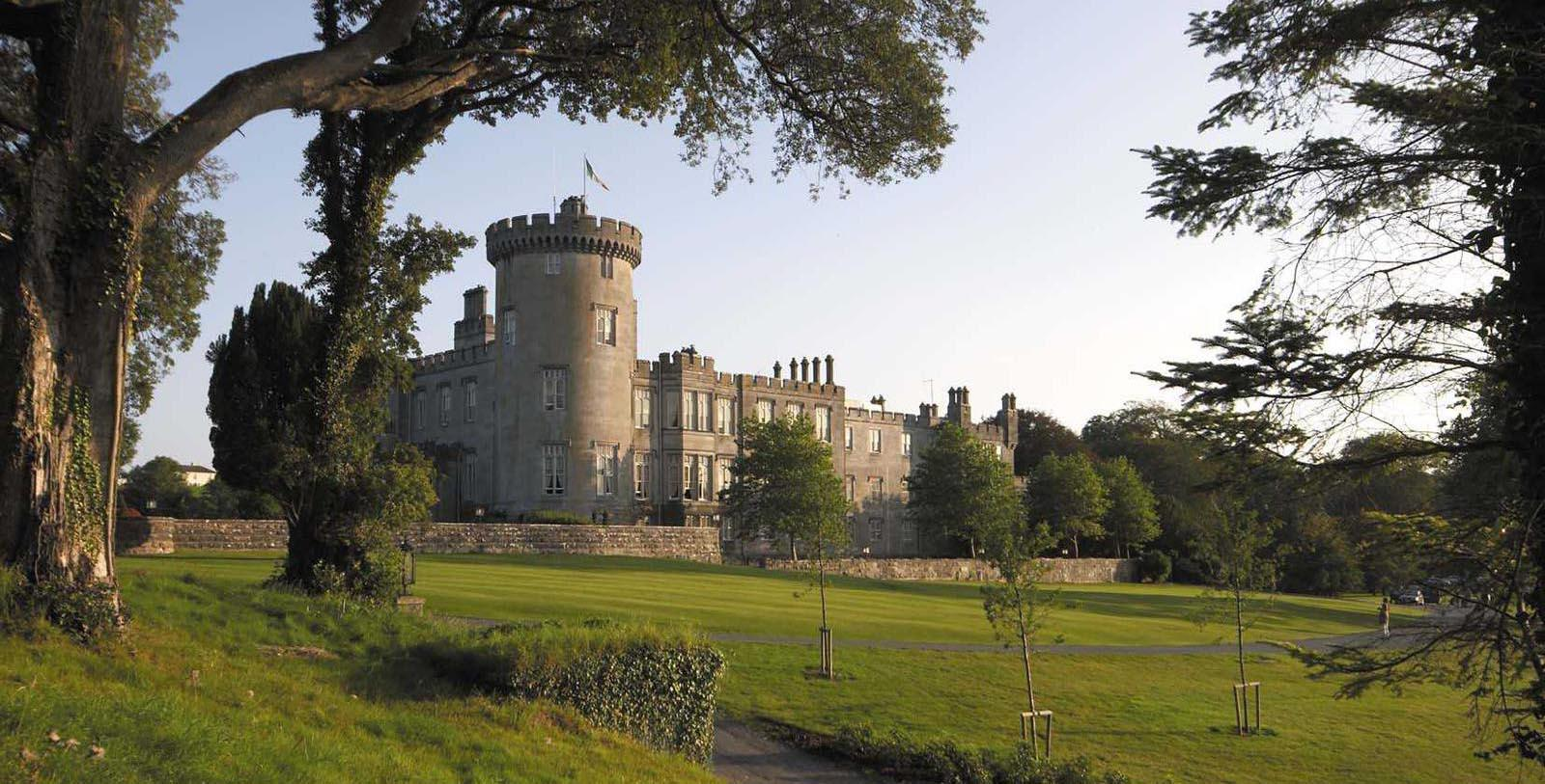 Image of hotel exterior Dromoland Castle Hotel, 1014, Member of Historic Hotels Worldwide, in County Clare, Ireland, Special Offers, Discounted Rates, Families, Romantic Escape, Honeymoons, Anniversaries, Reunions