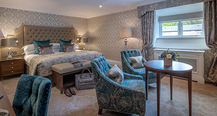 Accommodations:      Dromoland Castle Hotel  in County Clare