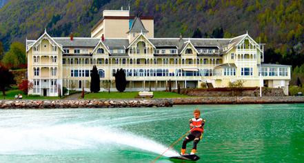 Activities:      Kviknes Hotel  in Balestrand