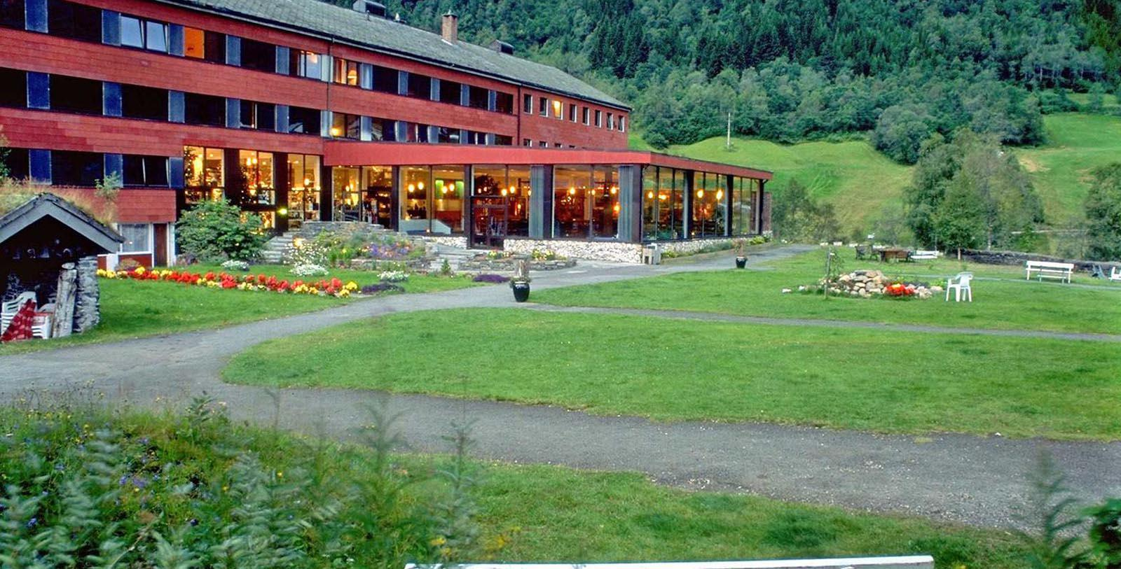 Image of Hotel Exterior Stalheim Hotel, 1750, Member of Historic Hotels Worldwide, in Stalheim, Norway, Overview