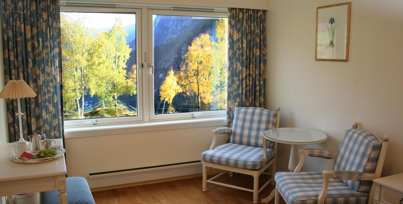 Image of Guestroom Sitting Area at Stalheim Hotel, 1750, Member of Historic Hotels Worldwide, in Stalheim, Norway, Taste