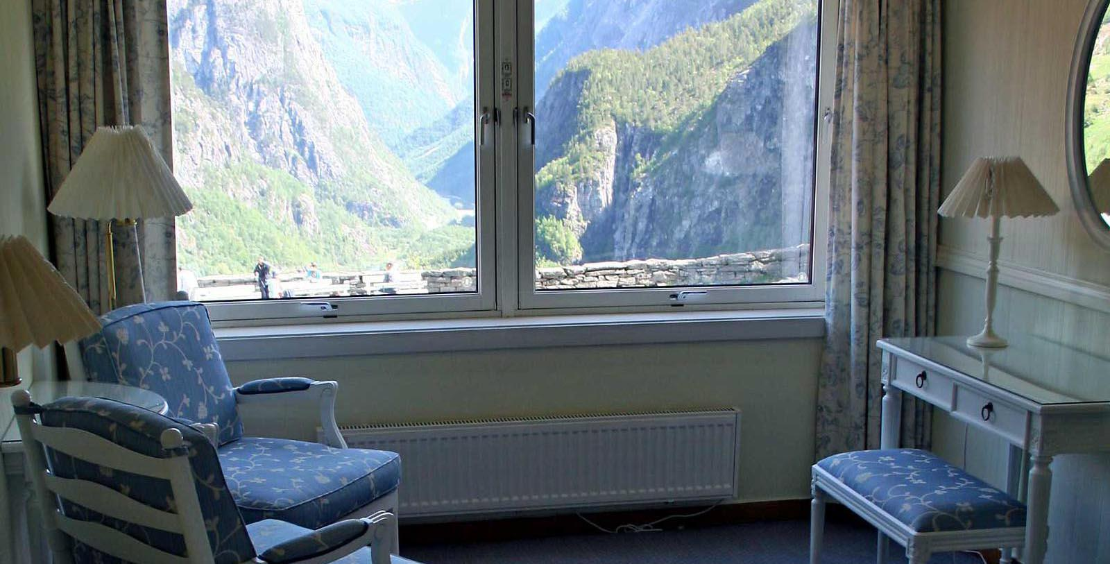 Image of Guestroom Living Area at Stalheim Hotel, 1750, Member of Historic Hotels Worldwide, in Stalheim, Norway, Explore