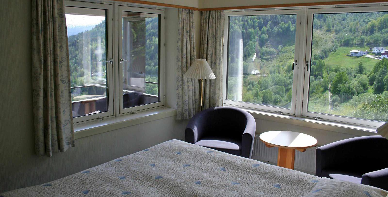 Image of Guestroom at Stalheim Hotel, 1750, Member of Historic Hotels Worldwide, in Stalheim, Norway, Accommodations