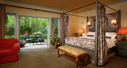 Accommodations:      The Fairmont Sonoma Mission Inn & Spa  in Sonoma