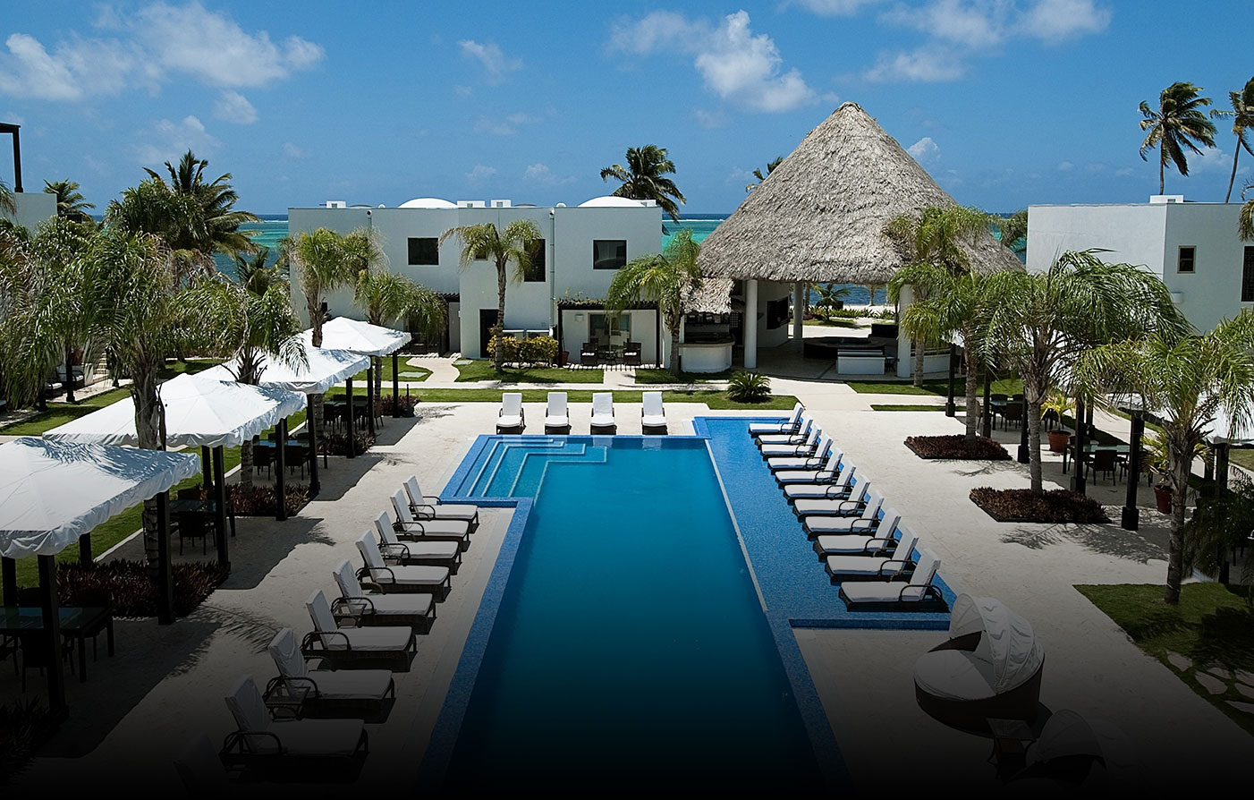 Accommodations:      Las Terrazas Resort  in Ambergris Caye