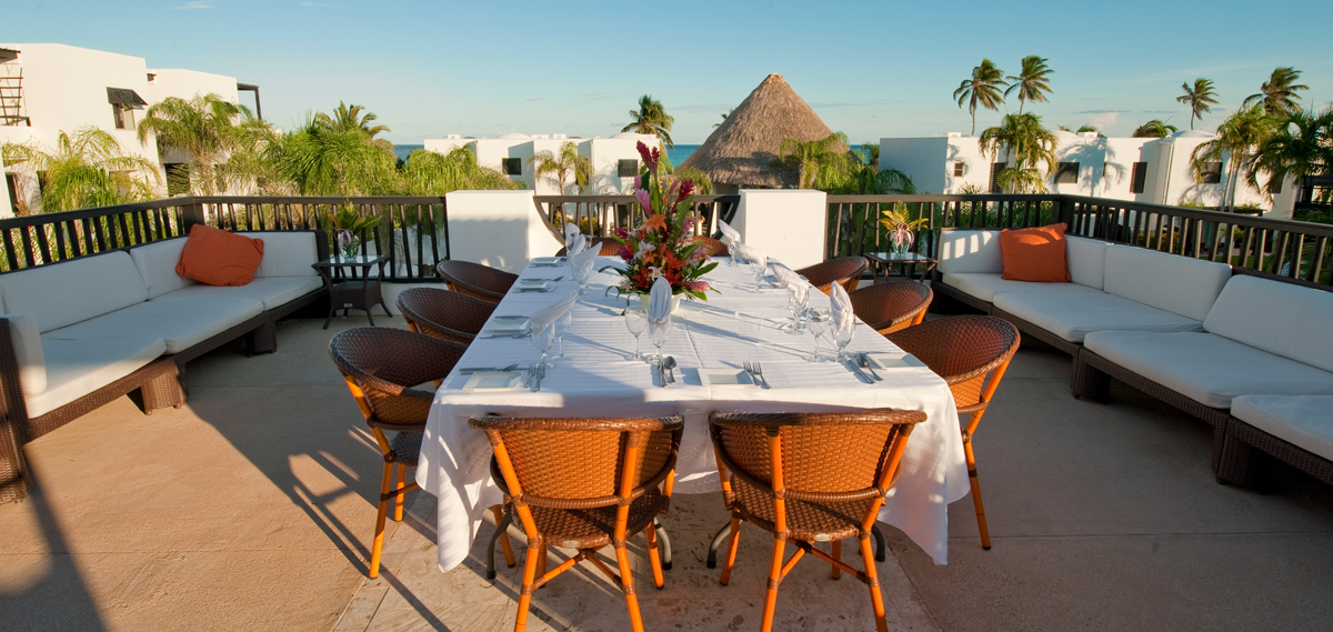 Dining:      Las Terrazas Resort and Residences  in Ambergris Caye