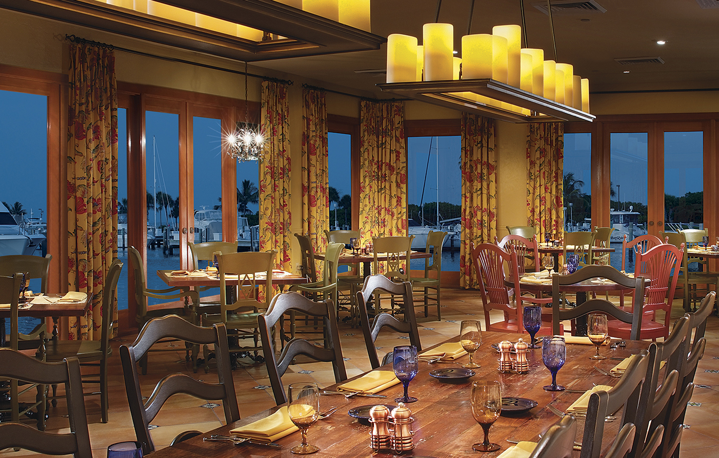 Dining:      The Resort at Longboat Key Club  in Longboat Key