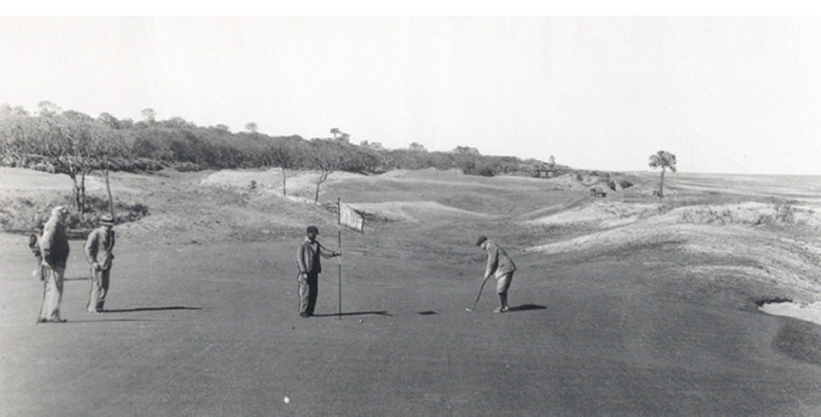 Historic Image of the Great Dunes Course at Jekyll Island Club Resort, Member of Historic Hotels of America, Jekyll Island, Georgia