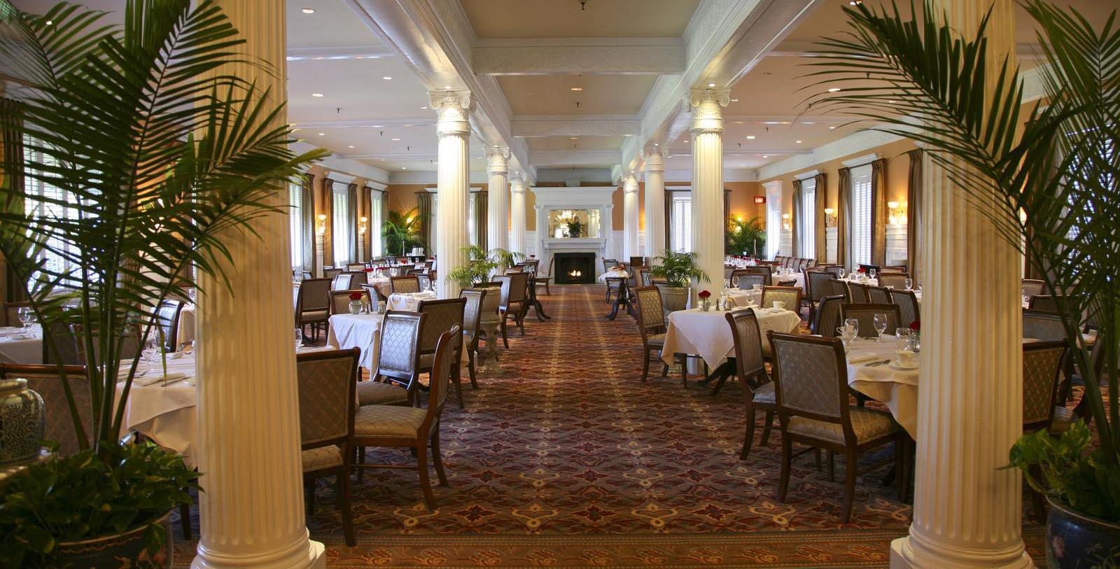 Image of the Grand Dining Room of the Jekyll Island Club Resort on Jekyll Island, Georgia