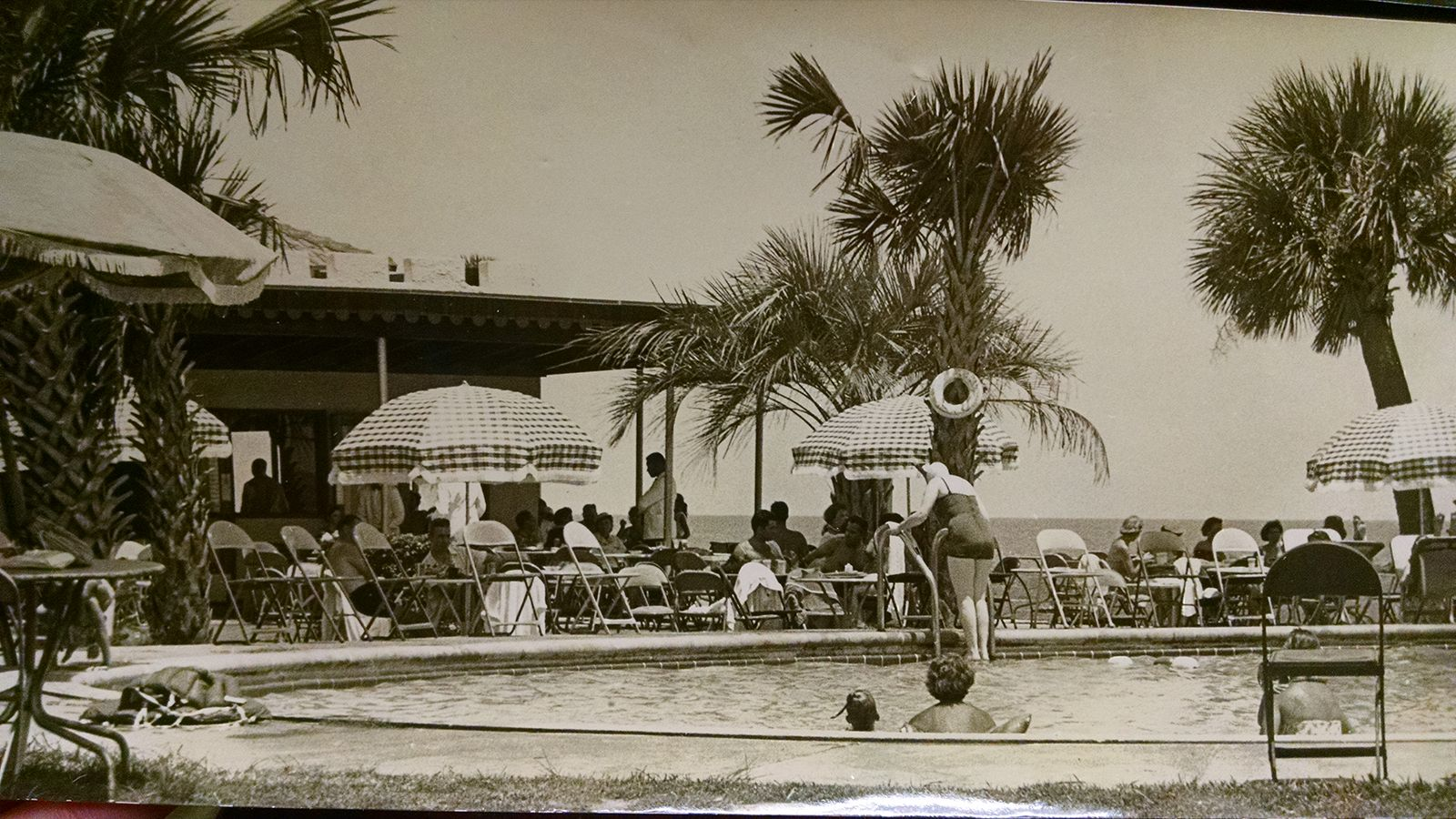 Historical Image of Outdoor Pool The King and Prince Beach and Golf Resort St. Simons Island Georgia