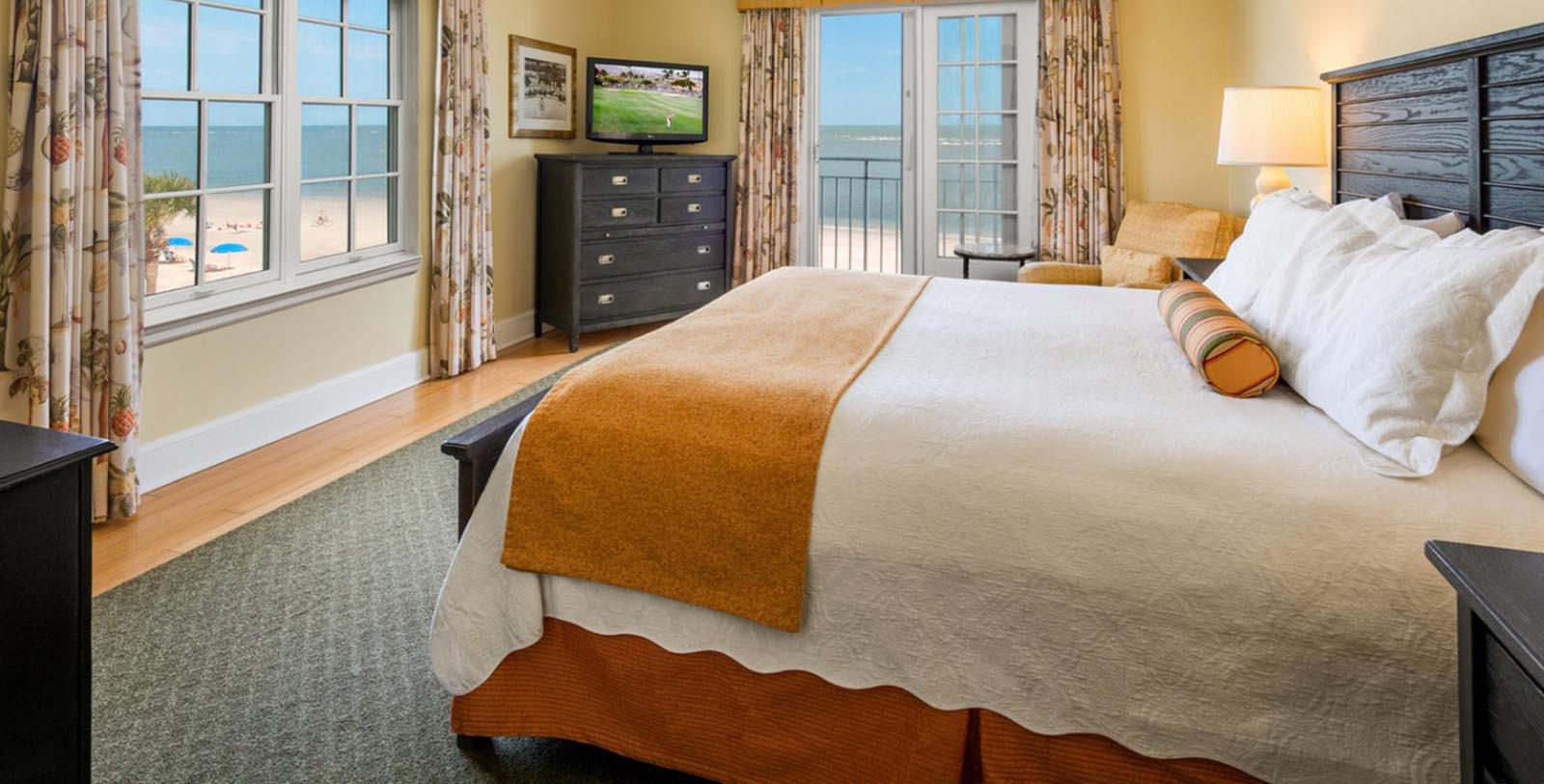 Image of Guestroom at The King and Prince Beach and Golf Resort, 1935, Member of Historic Hotels of America, on St. Simons Island, Georgia, Location Map