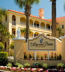 The King And Prince Beach Golf Resort In St Simons Island