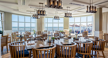 Dining at      The King and Prince Beach and Golf Resort  in St. Simons Island