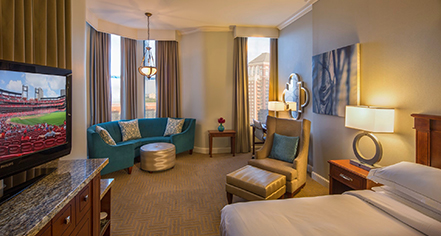 King Superior Room At Hilton St Louis Downtown At The