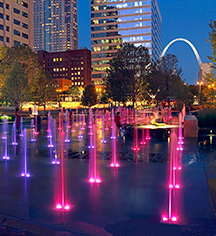 Local Attractions:      Hilton St. Louis Downtown at the Arch  in St. Louis