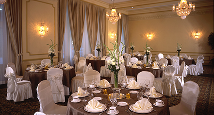Weddings:      Hilton St. Louis Downtown at the Arch  in St. Louis