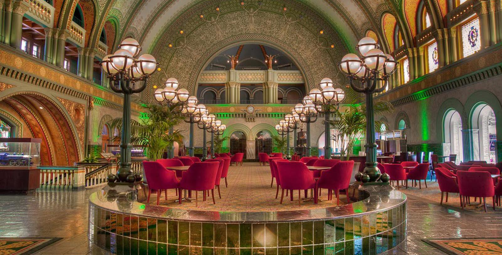 Image of Indoor Seating Area St. Louis Union Station Hotel, Curio Collection by Hilton, 1894, Member of Historic Hotels of America, in St. Louis, Missouri, Explore