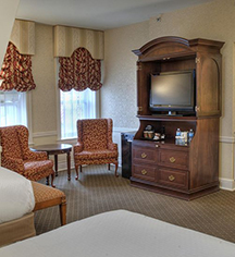 Accommodations:      St. Louis Union Station Hotel, Curio Collection by Hilton  in St. Louis