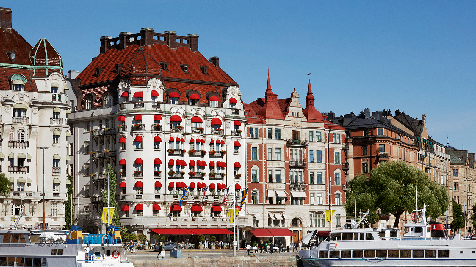 Image of External View of Hotel, Hotel Diplomat, Stockholm Sweden, Overview