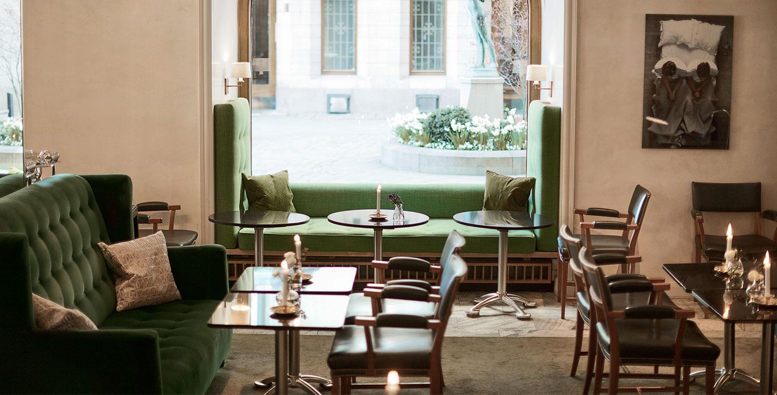 Image of Hotel's Restaurant, Hotel Diplomat, Stockholm Sweden, Dining
