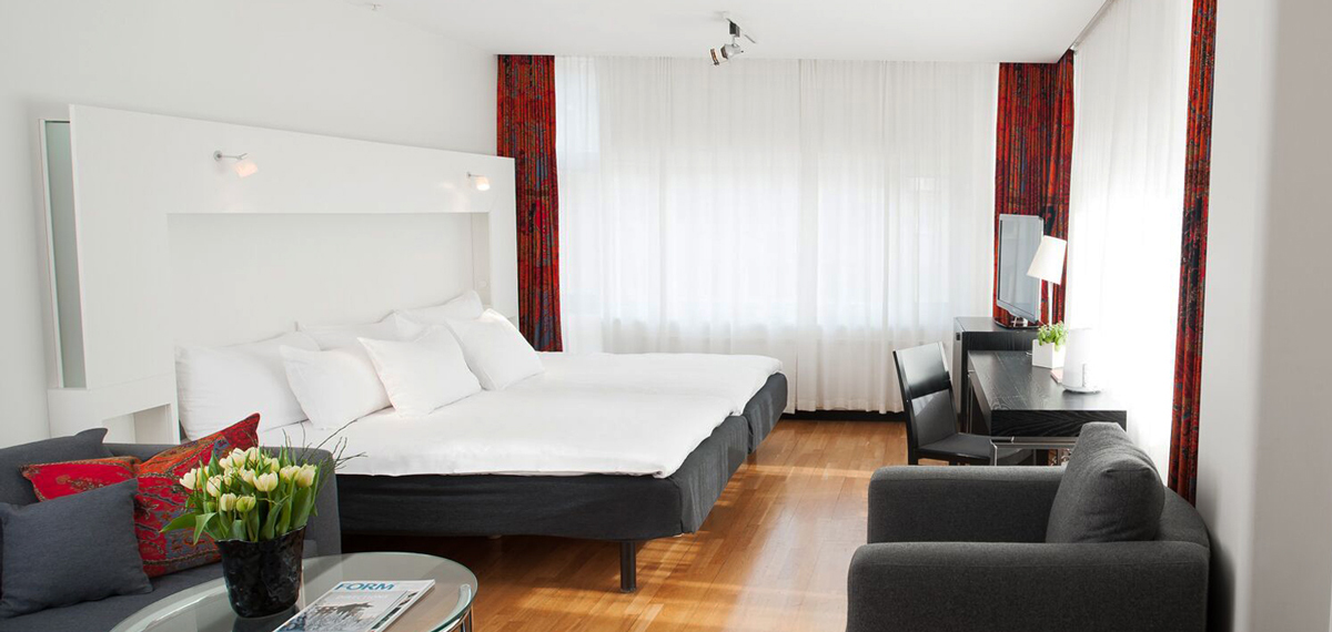 Accommodations:      Nordic Light Hotel  in Stockholm