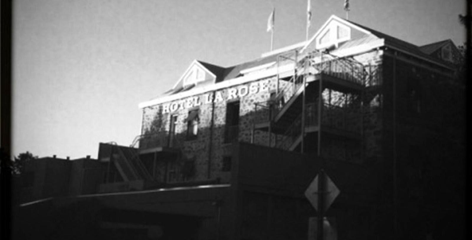 Image of Historic Exterior, Hotel La Rose in Santa Rosa, California, 1907, Member of Historic Hotels of America, Discover