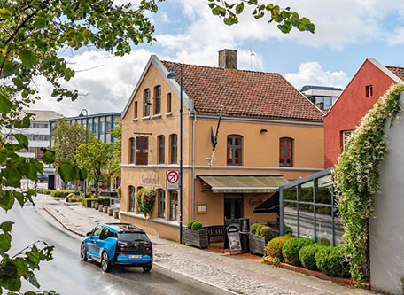 Image of Exterior, Gamla Værket, 1793, Member of Historic Hotels Worldwide, Sandnes, Norway, Special Offers, Discounted Rates, Families, Romantic Escape, Honeymoons, Anniversaries, Reunions