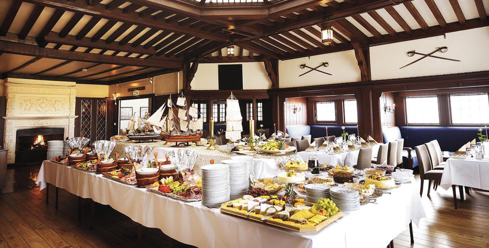 Image of Sunday Buffet at Sola Strand Hotel, 1914, Member of Historic Hotels Worldwide, in Sola, Norway, Taste