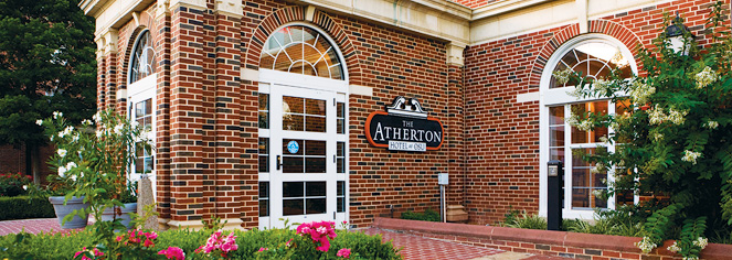 Dining at      The Atherton Hotel at Oklahoma State University  in Stillwater