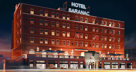 Event Calendar:      Hotel Saranac, Curio Collection by Hilton  in Saranac Lake