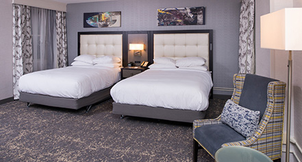 Accommodations:      DoubleTree by Hilton Hotel Utica  in Utica
