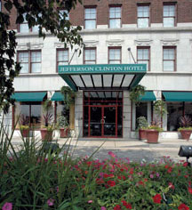 History:      Jefferson Clinton Hotel  in Syracuse