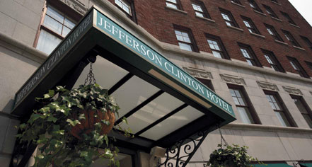 Weddings:      Jefferson Clinton Hotel  in Syracuse