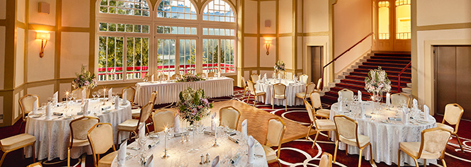 Weddings:      Grand Hotel Kempinski High Tatras  in Strbske Pleso