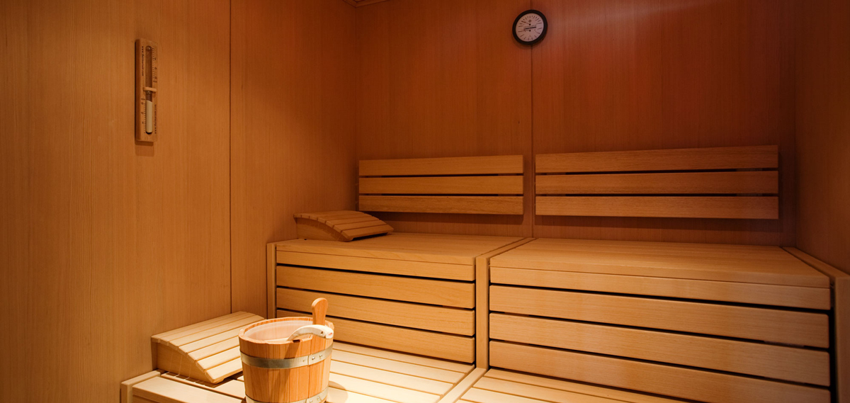 Sauna at Hotel Kabadoni