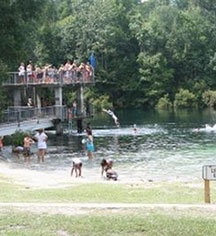 Local Attractions:      The Lodge at Wakulla Springs  in Wakulla Springs