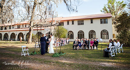 Weddings:      The Lodge at Wakulla Springs  in Wakulla Springs