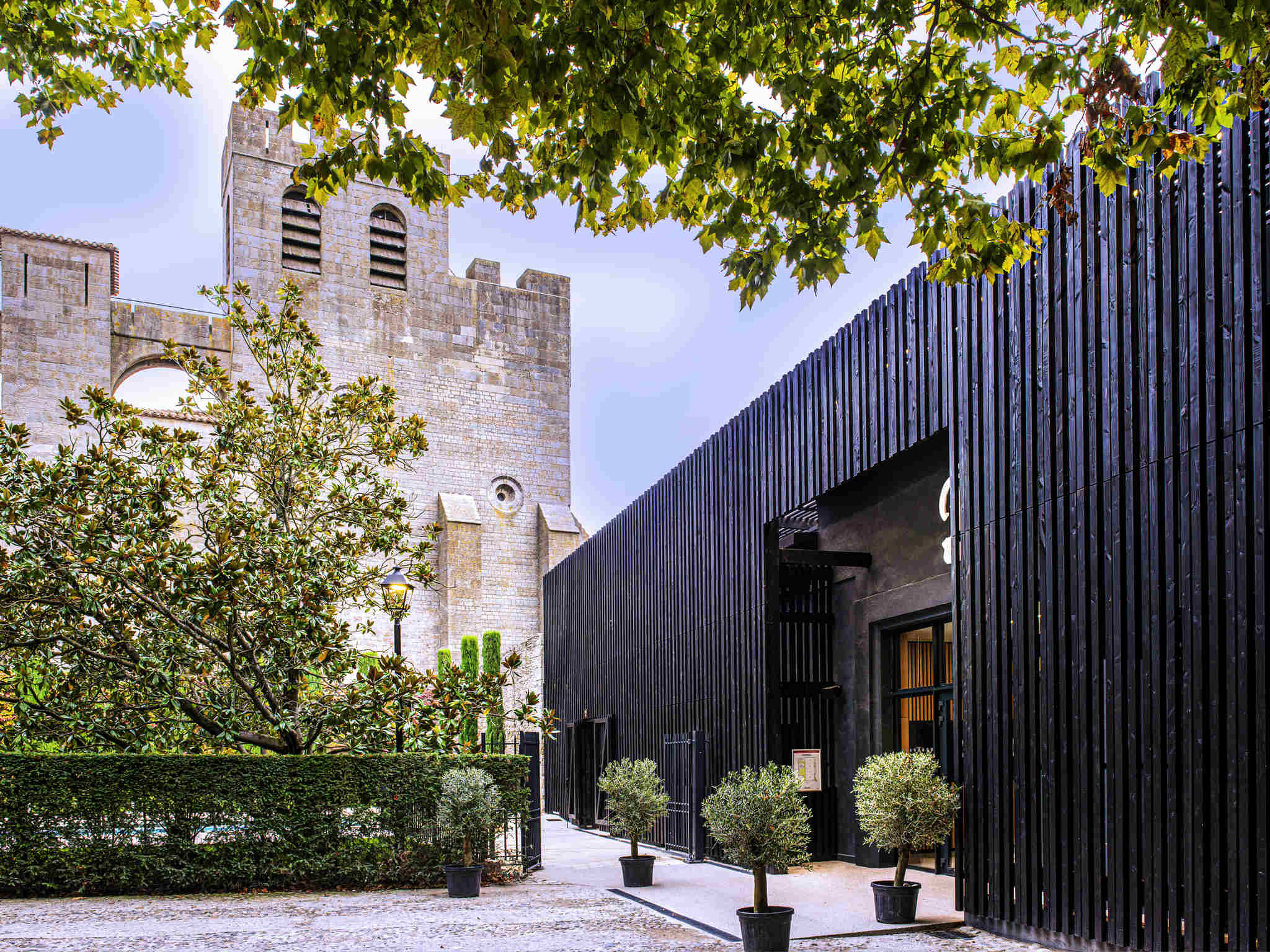 Image of Exterior Meeting Area Hôtel de la Cité Carcassonne - MGallery by Sofitel, 1909, Member of Historic Hotels Worldwide, in Carcassonne, France, Special Occasions