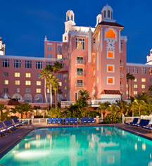 Activities:      The Don CeSar  in St. Pete Beach