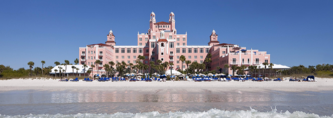 The Don CeSar  in St. Pete Beach