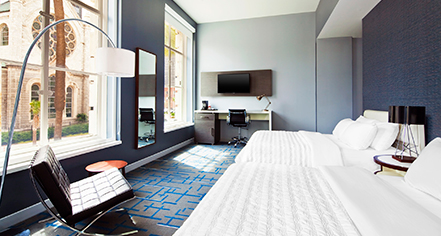 Accommodations:      Le Meridien Tampa  in Tampa